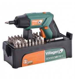 Akumulatorska bušilica-odvijač Villager VLN SDL 3.6V SET
