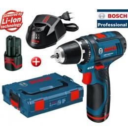 Akumulatorska bušilica-odvrtač Bosch Professional GSR 12V-15 L-BOXX