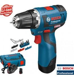 Akumulatorska bušilica-odvrtač Bosch Professional GSR 12V-20 + kofer