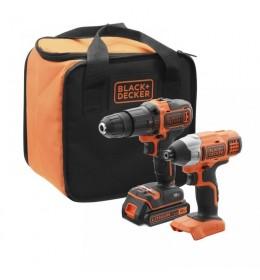 Akumulatorska bušilica i udarni odvijač Black&Decker BCK21S1S