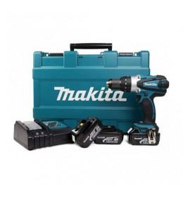 Akumulatorska udarna bušilica - odvijač Makita DHP456RFE3