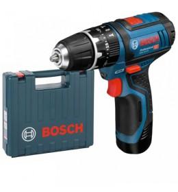 Akumulatorska vibraciona bušilica Bosch GSB 12V-15 Professional kofer