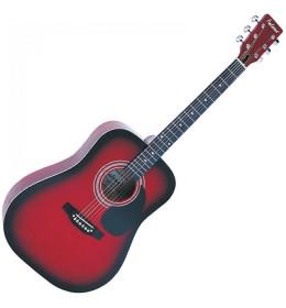Akustična gitara Falcon Red Burst FG100R
