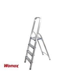Aluminijumske merdevine 3+1 Womax