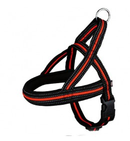 Am za psa Fusion crno/ narandžasti L