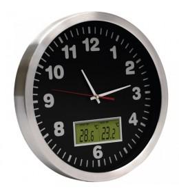 Analogni zidni sat sa termometrom 30cm
