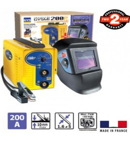 Aparat za varenje Inverter GYSMI 200P + maska LCD Techno 9-13