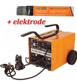Aparat za varenje Villager VWM-160 + Poklon elektrode