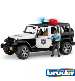 Autić Jeep Wrangler Unlimited Rubicon Police Car Bruder 02526