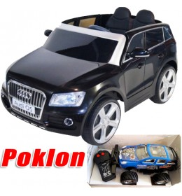 Autić na akumulator Audi Q5 230 licencirani Crni + Poklon