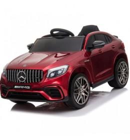 Autić na akumulator Mercedes GLC 63 AMG licencirani crveni