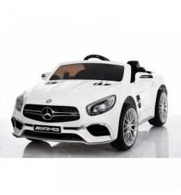 Autić na akumulator Mercedes SL 65 beli - licencirani