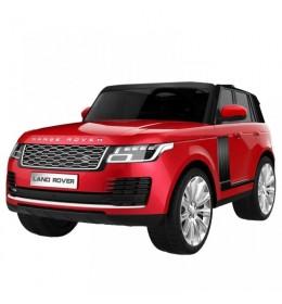 Autić na akumulator Range Rover dvosed licencirani metalik crveni