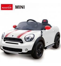 Autić na akumulator Rastar Mini Countryman 12V beli