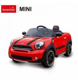 Autić na akumulator Rastar Mini Countryman 12V  crveni