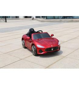Auto na akumulator Maserati Gran Cabrio 2019 crveni sa mekim gumama i kožnim sedištem