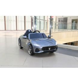 Auto na akumulator Maserati Gran Cabrio 2019 sivi sa mekim gumama i kožnim sedištem