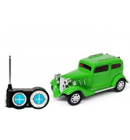 Auto na daljinski Mini Classic Racing zeleni