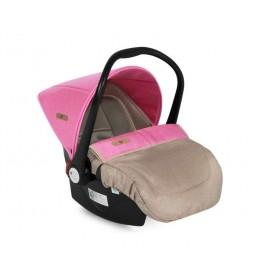Auto Sedište 0-13kg Lifesaver Beige&Rose
