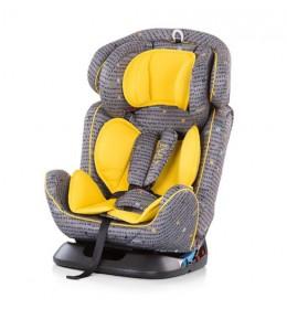 Auto sedište 4u1 žuta