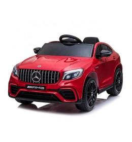 Automobil 247/1 Sa kožnim sedištem i mekim gumama Metalik Crveni