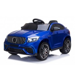 Automobil 247/1 Sa kožnim sedištem i mekim gumama  Metalik plavi