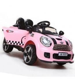 Automobil na akumulator mode 222 pink