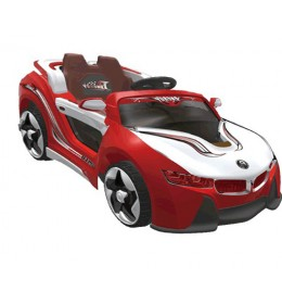 Automobil na akumulator model 208 crveni