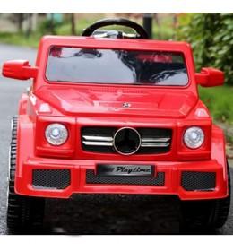 Automobil na akumulator model 224 crveni