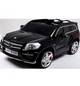 Automobil na akumulator model 228 Mercedes GL63 crni