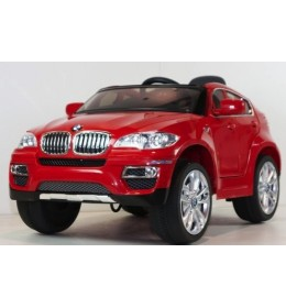 Automobil na akumulator model 229 BMW X6 crveni
