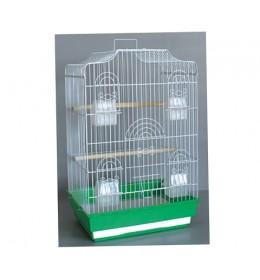 Kavez za ptice B3 bela i zelena
