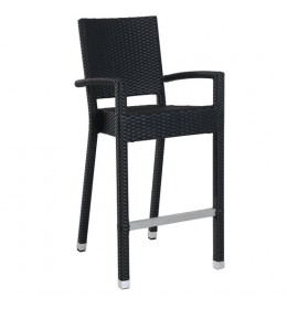 Barska stolica sa naslonom Barbados