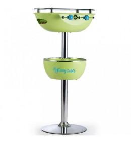 Barski sto sa stonim fudbalom Funny table zeleni