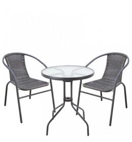 Baštenska garnitura Bistro sa 2 stolice