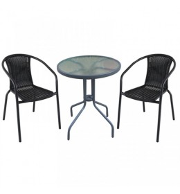 Baštenska garnitura Napoli 2 stolice i sto