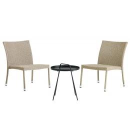 Baštenska garnitura Toronto Stolić sa dve stolice