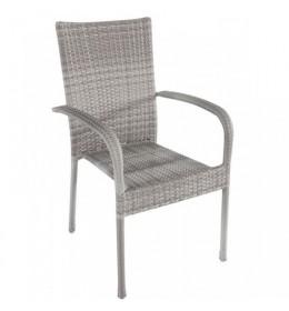 Baštenska stolica Avola siva