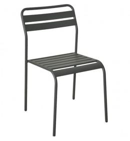 Baštenska stolica Cadiz siva