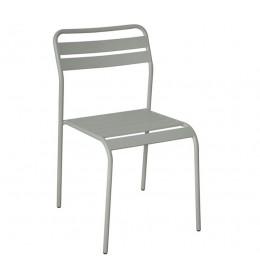 Baštenska stolica Cadiz svetlo siva