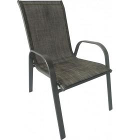 Baštenska stolica Como siva