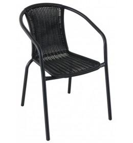 Baštenska stolica Napoli crna