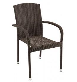 Baštenska stolica od čelika i petana