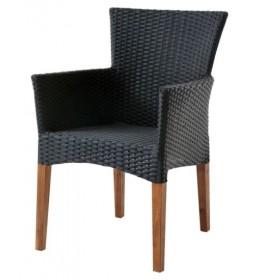 Baštenska stolica Pintstar crna