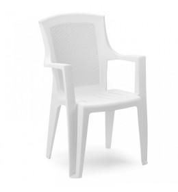 Baštenska stolica plastična Eden bela