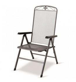 Baštenska stolica podesiva Savoy siva