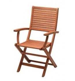 Baštenska stolica sklopiva Eukaliptus