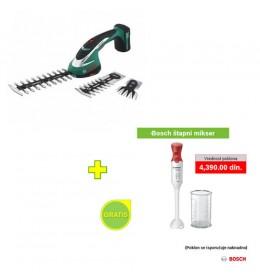 Bosch akumulatorski trimer za travu ASB 10,8 LI SET + POKLON