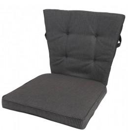 Baštenski jastuk Lola crni