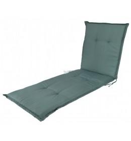 Baštenski jastuk za ležaljku zeleni